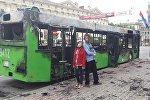 Во время съемок в Минске перекрывали проспект и сожгли один автобус.