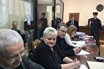 Адвокаты на процессе по делу о бройлерной королеве