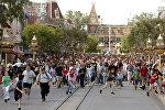 Парк развлечений Disneyland. Архивное фото