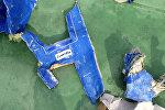Обломки самолета авиакомпании EgyptAir