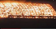 Пожар на складе Беларуськалия