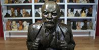 Праца скульптара Н.А. Андрэева Партрэт У.І. Леніна