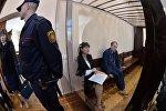 Елена Мельникова и Юрий Грушецкий в суде