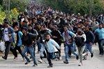 Мигранты бегут к австрийской границе