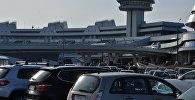 Стаянка аэрапорта Мінск
