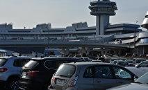 Стоянка аэропорта Минск