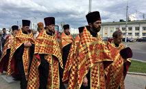Крестный ход в честь Кирилла и Мефодия