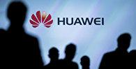 Журналисты на презентации Huawei. Архивное фото