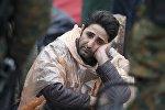 Мигрант из Сирии в Европе