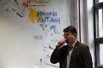 Андрэй Хадановіч на прэміі Цёткі