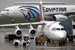 Самолеты компании EgyptAir