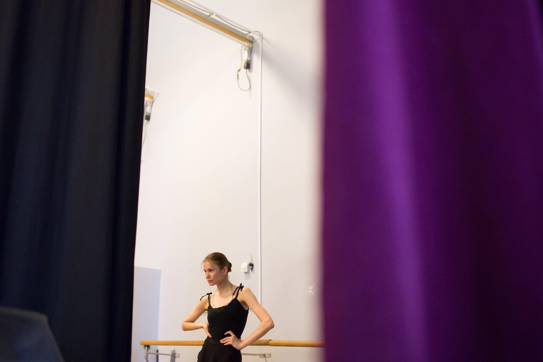 Фото репетиции балерины 23 фотография