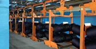 Производство полиэфирных нитей