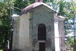 Капліца на могілках у Наваградку