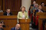 Министр труда и социальной защиты Беларуси Марианна Щеткина
