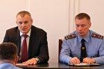 Глава МВД Игорь Шуневич представил нового начальника ГАИ МВД Дмитрия Корзюка