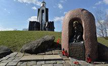 Мемориальный комплекс Памятник воинам-интернационалистам на Острове слёз.