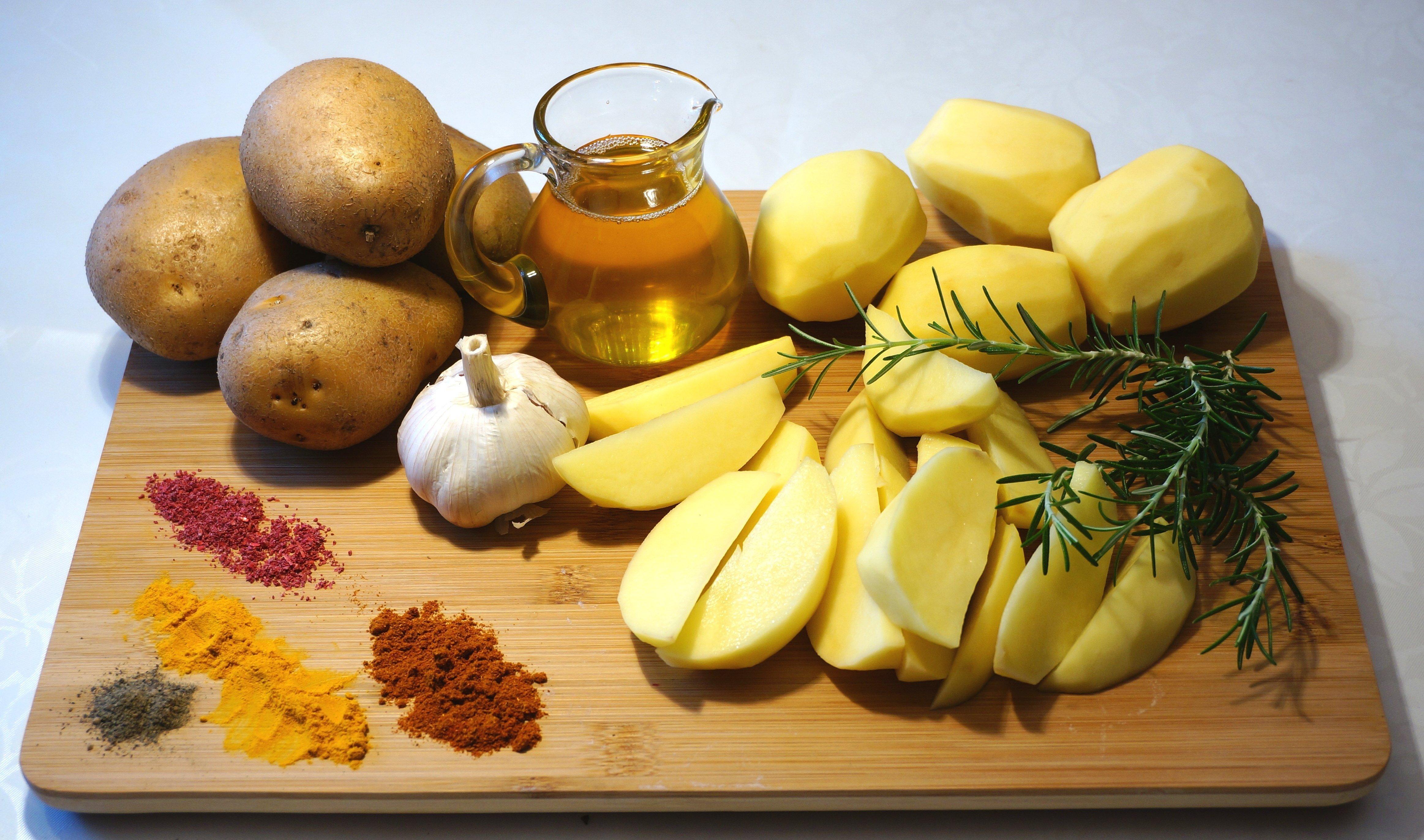 Картофель по-арабски