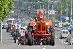 Парад тракторов в Минске