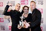Группа IOWA (Айова) на вручении премии RU.TV