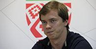 Игрок национальной сборной Беларуси по хоккею Андрей Стась