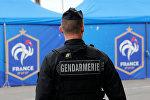 Сотрудник французской жандармерии