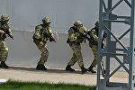 Нейтрализация пособников условных террористов проходила на четырех объектах Лукомльской ГРЭС