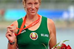 Белорусская спортсменка Екатерина Карстен