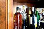Бутылки в баре