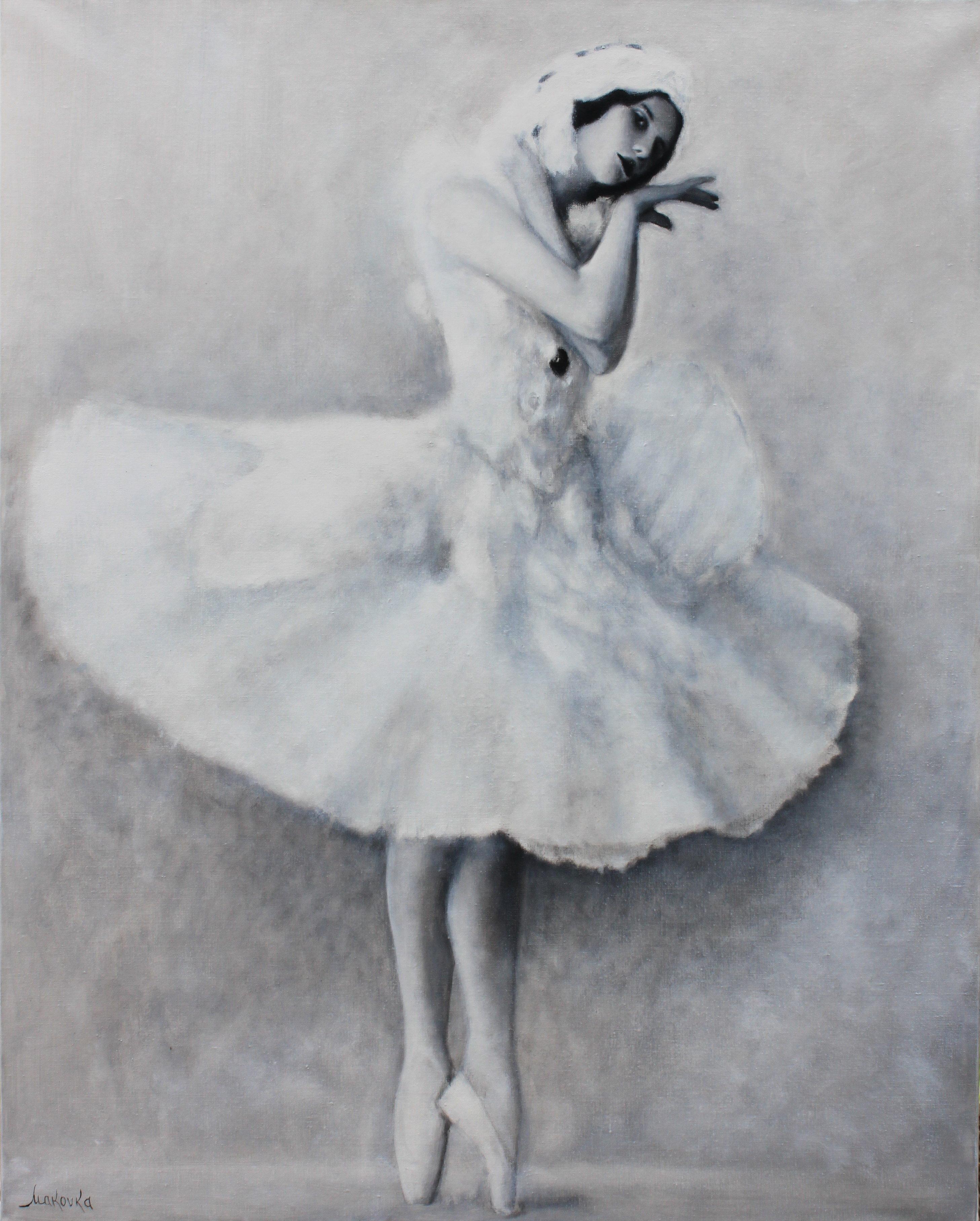 Картина белорусской художницы Елены Вантрийон-Макаревич Анна Павлова