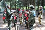 Сотрудники СК с воспитанниками подшефного детского учреждения в Ратомке