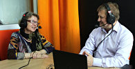 Ольга Зиновьева и Владимир Лепехин на радио Sputnik Беларусь