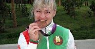 Белорусская тяжелоатлетка Марина Шкерманкова