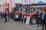 Трактора производства МТЗ на выставке Белагро