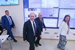 Президент РФ Владимир Путин посетил штаб-квартиру МИА Россия сегодня