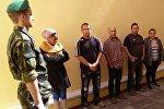 Задержанные в Бресте нелегалы