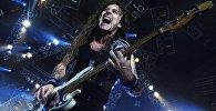 Гитарист группы Iron Maiden Стив Харрис