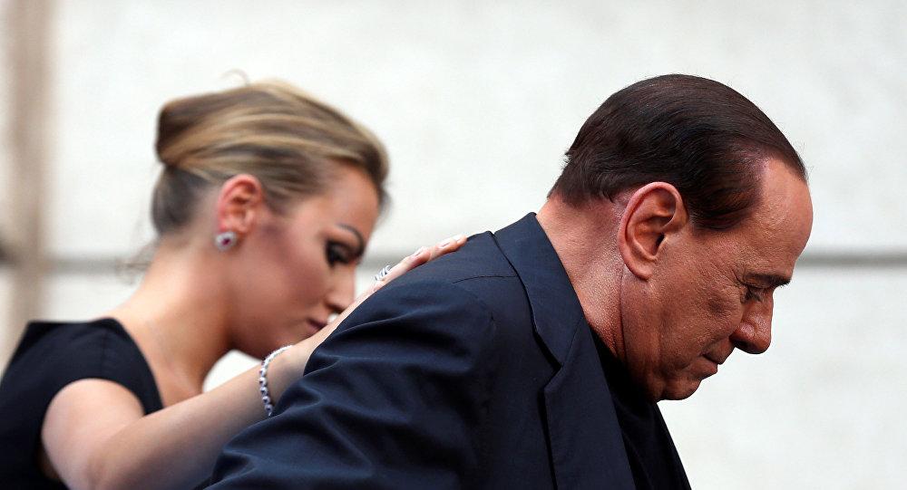 Былы прэм'ер-міністр Італіі Сільвія Берлусконі