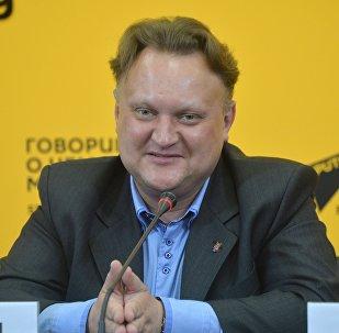 Віктар Бабарыкін на Sputnik Беларусь