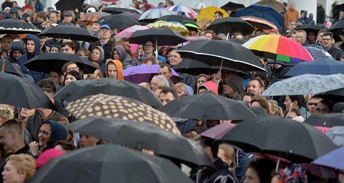 Дождь в Минске