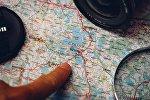 Планирование путешествия, карта Польши