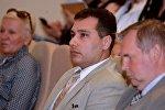 Директор департамента по предпринимательству Петр Арушаньянц на форуме