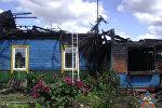 Пожар в Кировском районе