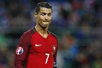Игрок сборной Портгалии по футболу Криштиану Роналду