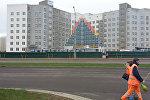 Строительство детской поликлиники в одном из спальных районов Минска Каменной Горке – 2