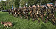 Белорусские десантники. Архивное фото