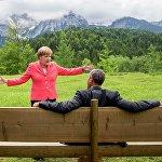 Меркель і Абама на G7
