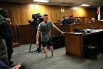 Оскар Писториус в суде в ЮАР