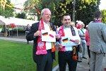 Посол Германии и посол Польши делают дипломатическую ставку на исход встречи сборной двух стран