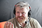 Журналіст Анатоль Шырвель на радыё Sputnik Беларусь